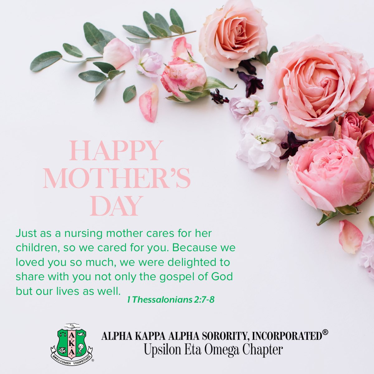 #AKA1908 #AKASouthEastern #AKAUEO #AKAUpsilonEtaOmega #MothersDaypic.twitter.com/sVXsWZFP4H