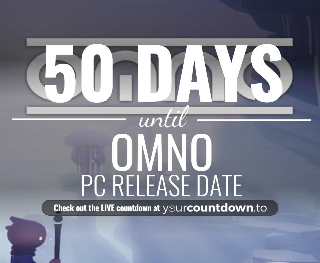 Only 50 more days before OMNO - PC Release Date #OMNO          👇👇 Visit the website to see the LIVE countdown 🕒 https://t.co/KtWFijmxxS https://t.co/wPxyxfuLxK