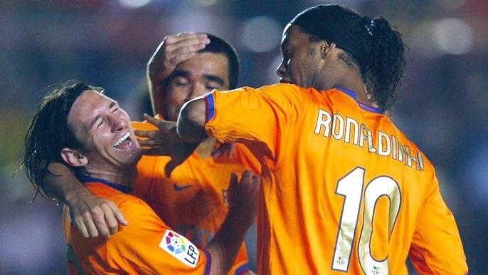 Déco : «Dès le départ, il est clair que Lionel et Cristiano sont les plus grands. Mais Ronaldinho était plus talentueux que Lionel Messi et Cristiano Ronaldo. Pour moi, il sera toujours le meilleur. »