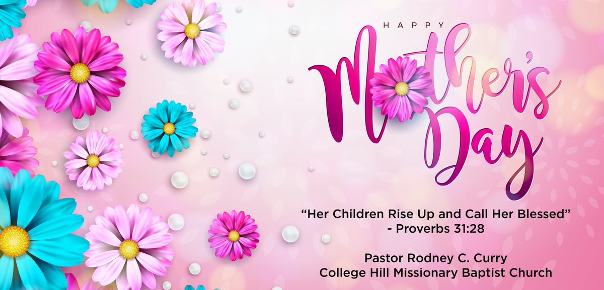 Today we stop and say THANK YOU for ALL You Do! Happy Mother's Day Women of College Hill Church ♥️...  #appreciate #celebrate #collegehill  https://t.co/c66BKoNBw6 https://t.co/heGe4lA6Y9