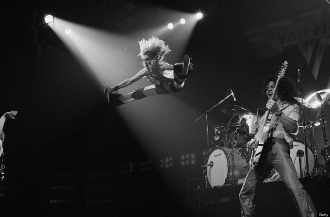 Van Halen performing at The Rainbow in Finsbury Park, London 1978.