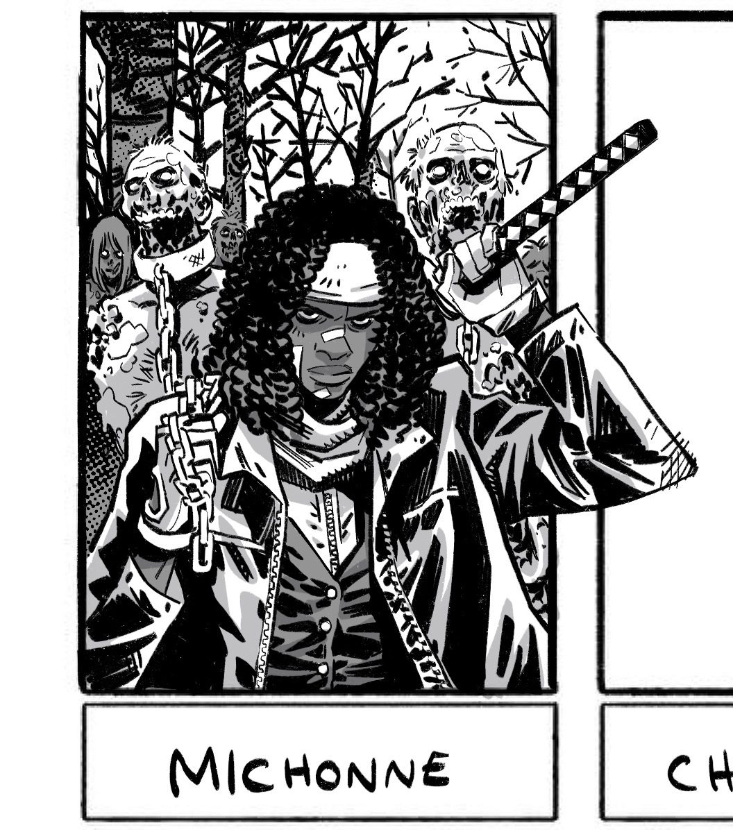 because ive given up on completing another 6 - heres Michonne & Sameen https://t.co/umnQdAkQRL
