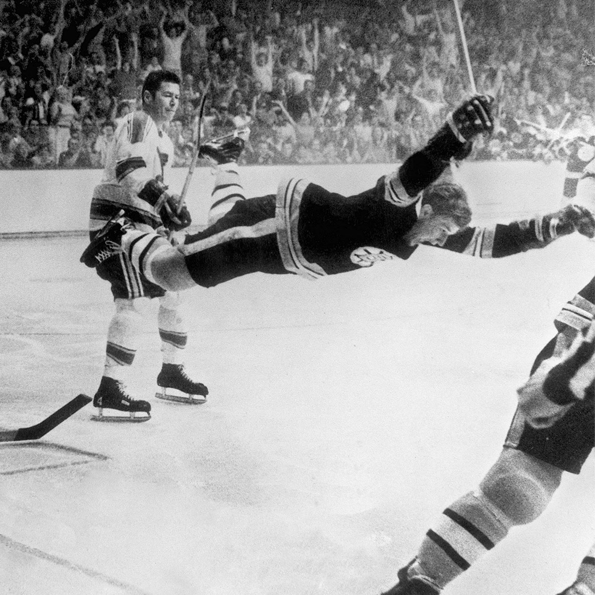 50 years ago today, one of the most iconic pictures in sports history was taken. #NHLBruins