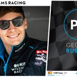 Get in there @GeorgeRussell63!! 👏  #VirtualGP #WilliamsEsports #WeAreWilliams 💙
