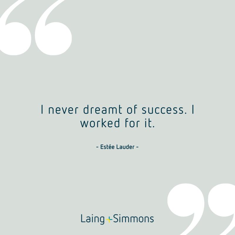 I never dreamt of success. I worked for it #karenhardylsre #laingandsimmonshornsby #beyondtheexpected https://t.co/MpTQPAejri