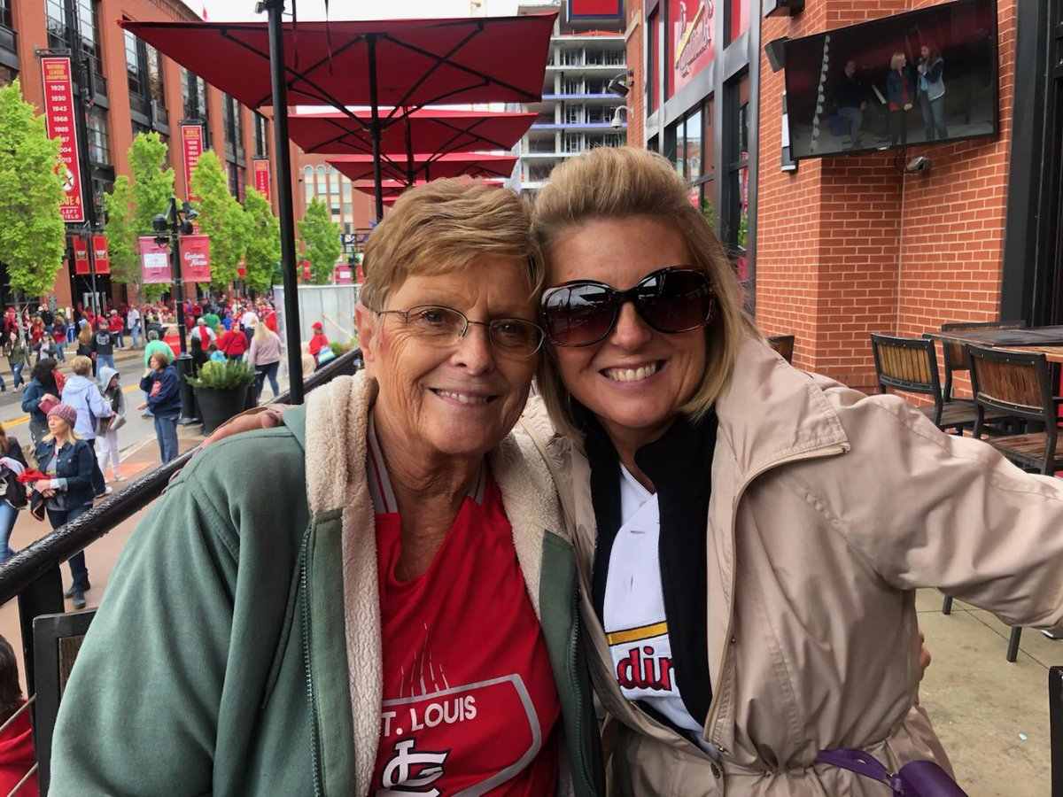 @MLB Me and my momma @tmtoland love our @Cardinals @STLCards_Nation @BPVSTL