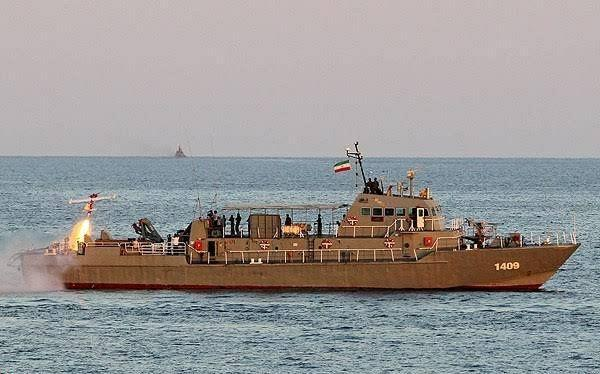 #Iran Iranian naval vessel have sunk another Iranian naval vessel in the Persian Gulf today?!
