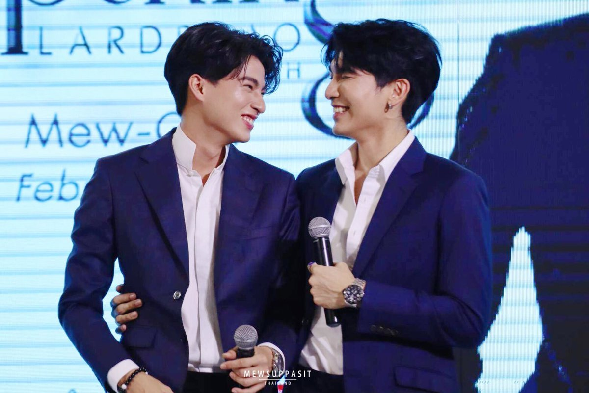 But in this universe,from billions possibility that could hppened, Mew n Gulf are destined to meet.The universe conspire so they can be exactly what they are now.'What if?' isn't about crossing path anymore,but their future together. #mewgulf  #mewgulfAU  #MewSuppasit  #GulfKanawut