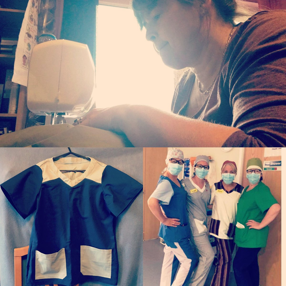 Our amazing @AlisonClark20 has been using her time to create scrubs for the amazing people at the NHS via scrubs glorious scrubs! #weareproudofyou #helpingothers #heroes #scrubs #scrubsgloriousscrubs #iceskater #adultskater #iceage #sewing #helpingheroes #TogetherAtHomepic.twitter.com/K6P2xa91FE