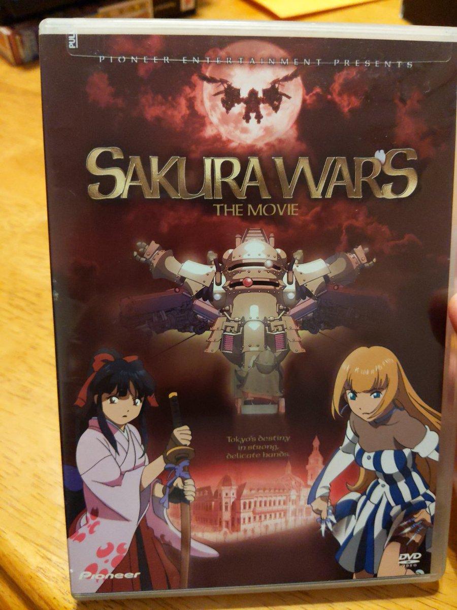 sakura wars the movie