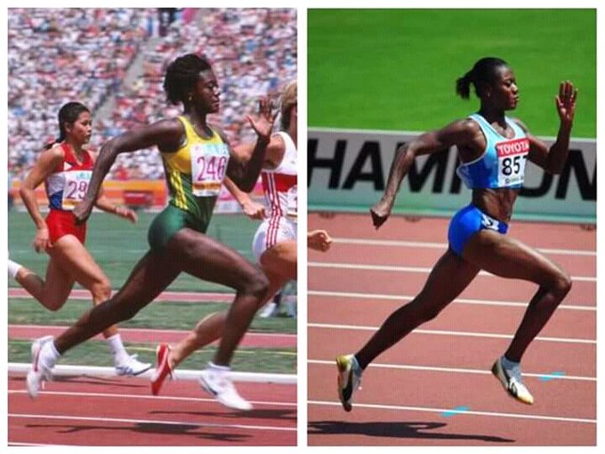 Merlene Ottey Turns 60! Happy Birthday to the Sprinter Queen  1984 Olympic Games  Forever young.