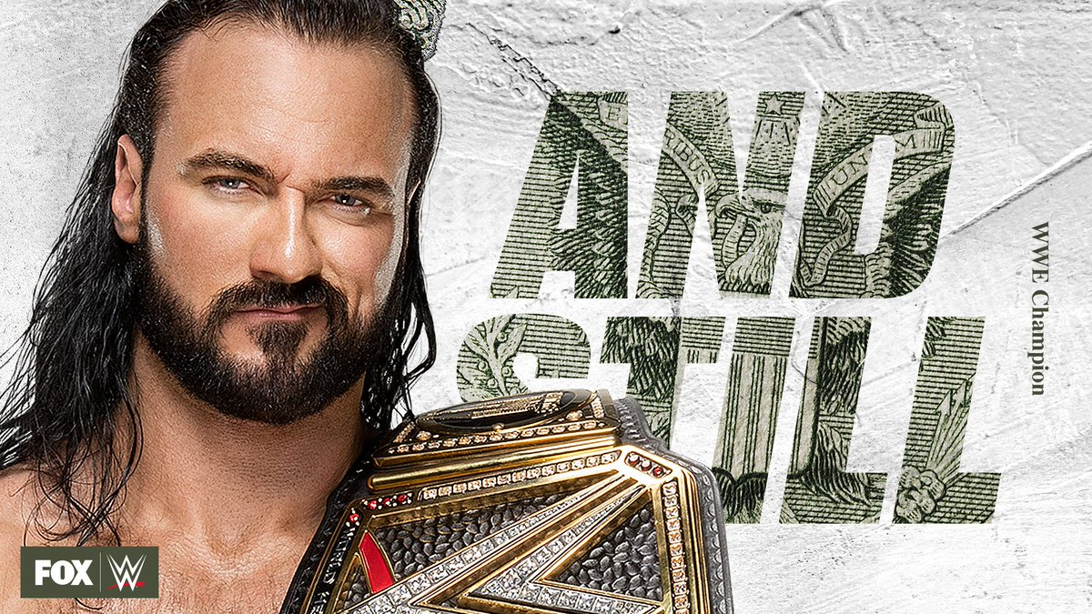 The @WWE Championship remains in Claymore County. #AndStill, @DMcIntyreWWE! #MITB
