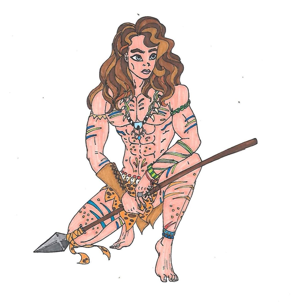 Introducing Christopher Clayton (wild version), son of Tarzan & Jane.  #inktober2019 #wild #sketch #sketchbook #sketching #sketchdaily #draw #drawing #drawingoftheday #art #arte #artwork #artistsoninstagram #characterdesign #originalcharacter #tarzan #princevanyapic.twitter.com/nTjR74rNS5
