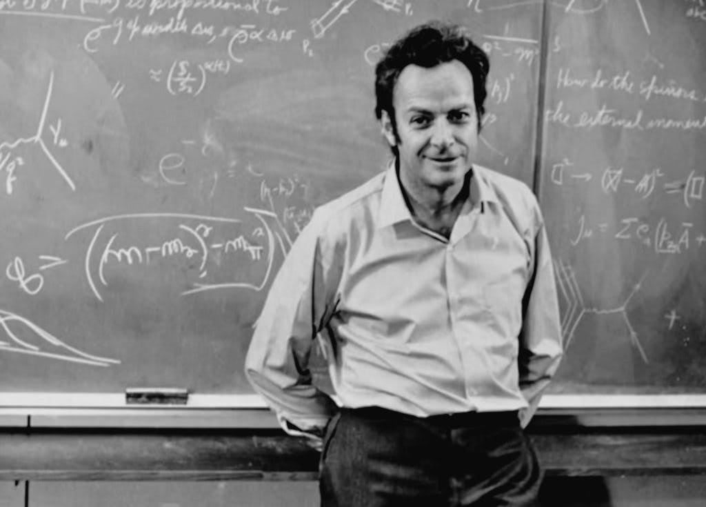 """Richard Feynman's 102nd birth anniversary. One of the smartest and funniest men to walk on this planet. """"Surely You're Joking, Mr Feynman!' changed the way so many of us looked at science. His first wife Adele was seriously ill when they were married and died of tuberculosis.1/3 https://t.co/yXyCDcuARH"""