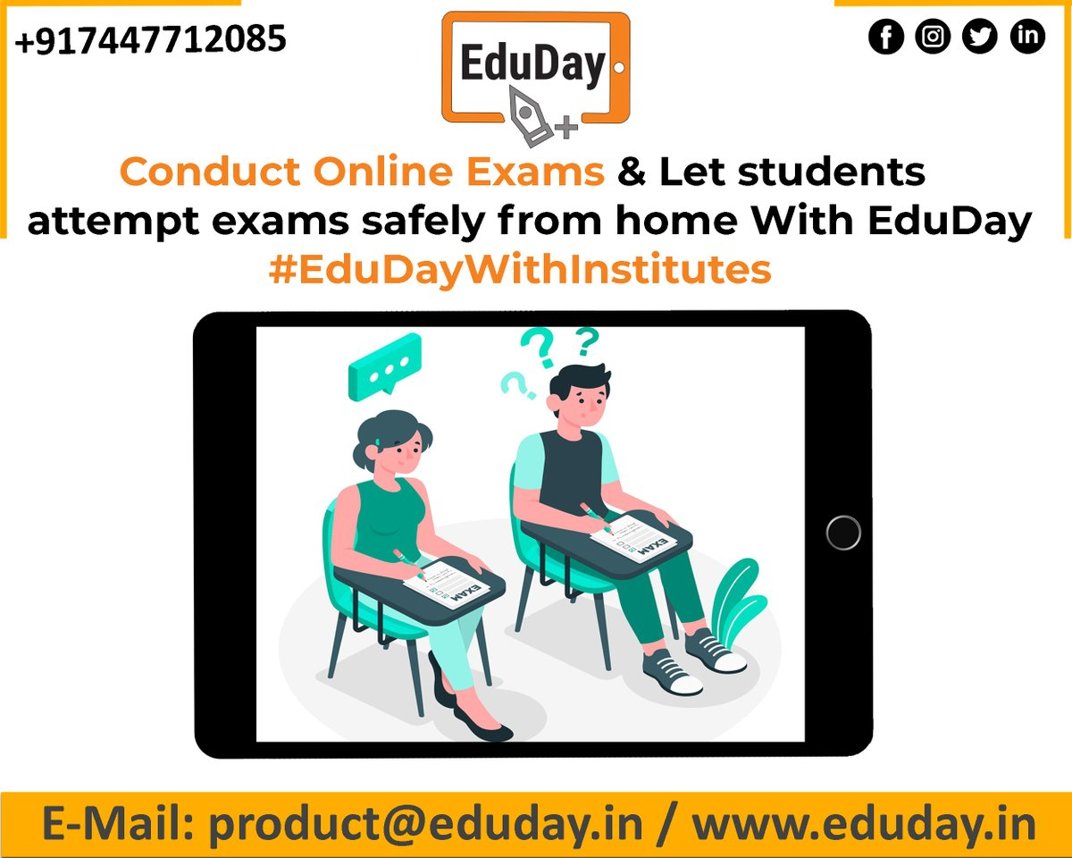 EduDay Educational Tablets especially designed for competitive exams such as JEE, NEET, UPSC, CA.etc  For more information please feel free to contact on: - Ph : +91 7447712085 E-Mail: product@eduday.in http://www.eduday.in  #eduday #edudayindia #pune #india #tab #tabletspic.twitter.com/DELC8LqQDC