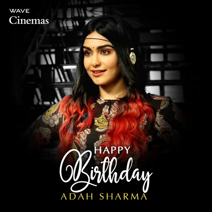 Wishing The Gorgeous and Adah-rable Actress a Very Happy and Safe Birthday.