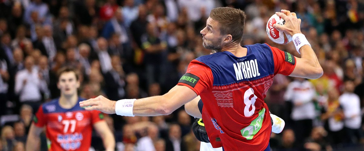 """International Handball Federation on Twitter: """"Norway men's handball team  captain Bjarte Myrhol's Comeback Initiative is bringing top Norwegian  sports stars together to raise funds for youth and children's sports clubs  in Norway!"""