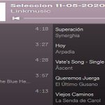 Image for the Tweet beginning: #PlaylistSpotify semanal grupos con #Perfil en
