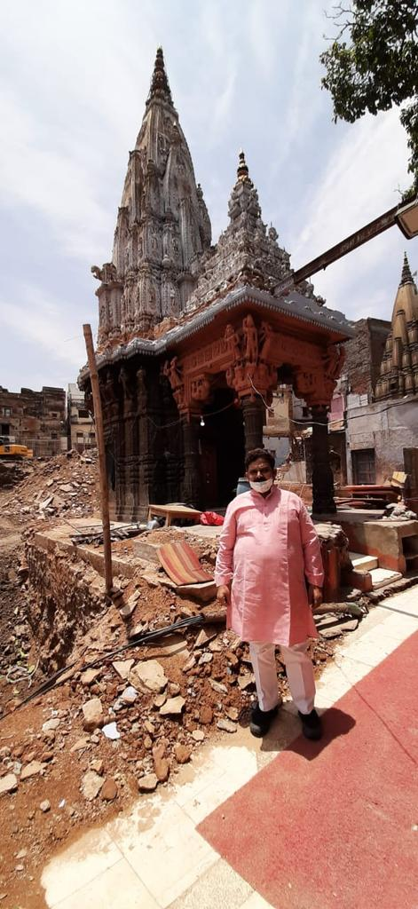 विश्वनाथ मन्दिर परिसर विवाद पूर्णतः निरर्थक है पतनोन्मुख कोंग्रेसियों की कैलाश मन्दिर के शिखर को तोड़ने की अफवाहें पूर्णतः गलत है आज मैं स्वयं मौके का मुआयना करने गया था ,मंदिर शिखर पूरी तरह सुरक्षित है, @myogiadityanath @BJP4UP @PMOIndia @KGopalRSS @sunilbansalbjp @CMOfficeUP https://t.co/womJ6i8EsI