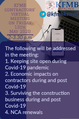 Online Contractors' meeting.  You will be sent meeting joining procedure after registration on the link below  https://t.co/4hCZ2XQIvh https://t.co/VJUTcOwUA6