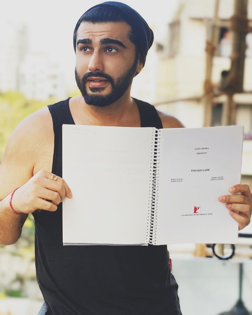 Yesterday I found my original shooting script of Ishaqzaade with notes scribbled in them from 8 years ago. At that point of time in my life, self-belief was one thing that mattered the most for me & that's what I got out of Ishaqzaade.