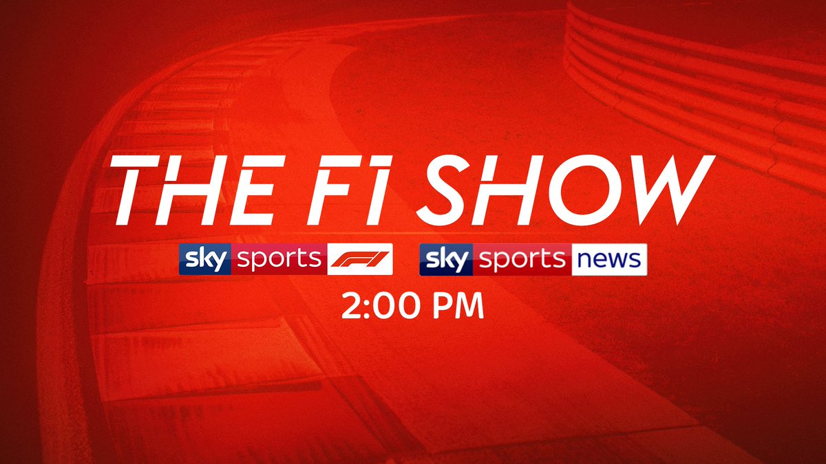 Don't forget The F1 Show is on at 2:00 PM ⏰  Join @Simon__Lazenby, @JensonButton and @MBrundleF1 to discuss all of last week's news, what happens next and looking ahead to racing in Europe.  📺 Sky Sports F1 | Sky Sports News  #SkyF1 | #F1 https://t.co/R8OHarYHOV