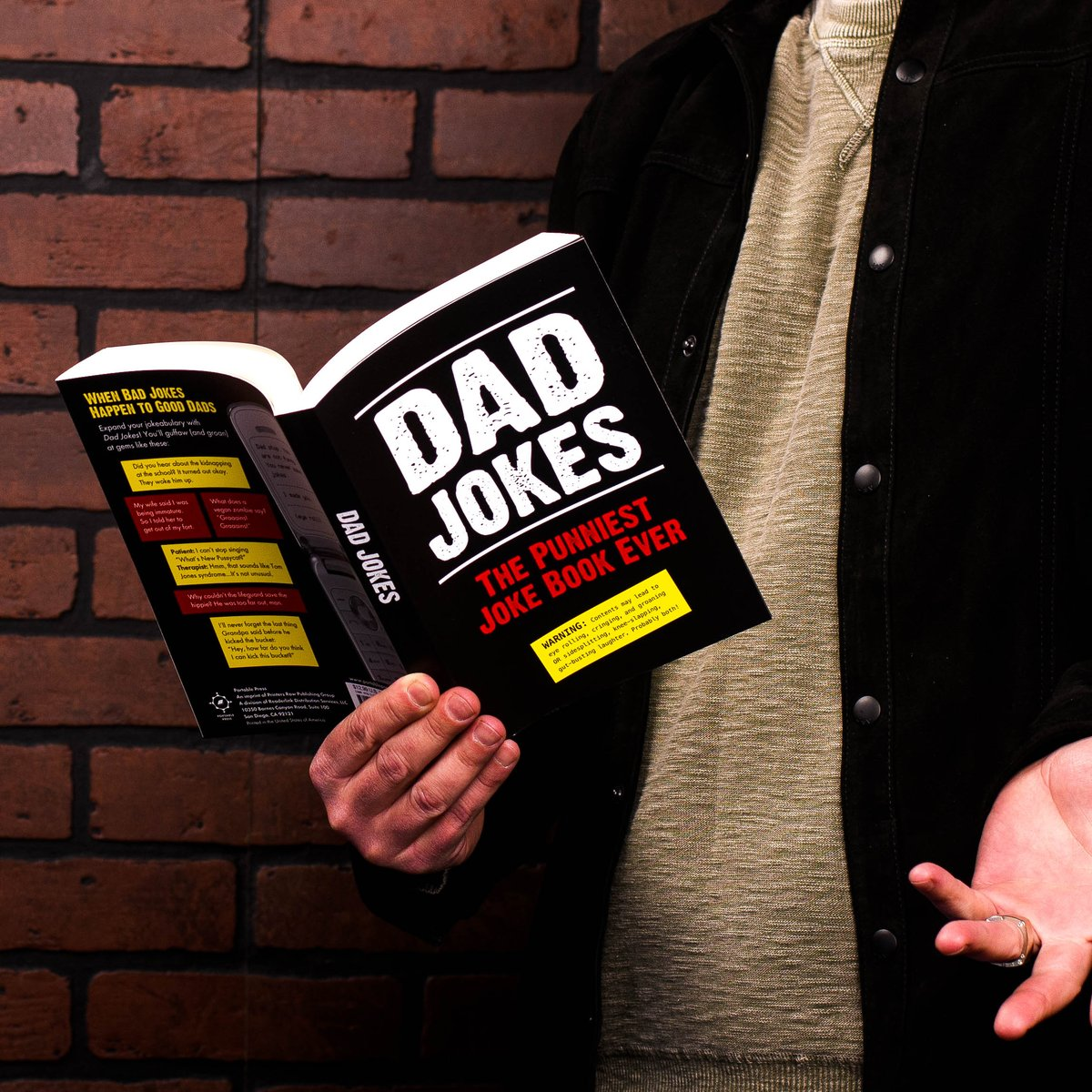 Father's Day is June 21st! Make sure dad never runs out of content with our Dad Jokes series: https://t.co/uGrDZEPX8U https://t.co/tKh2BdSlAU