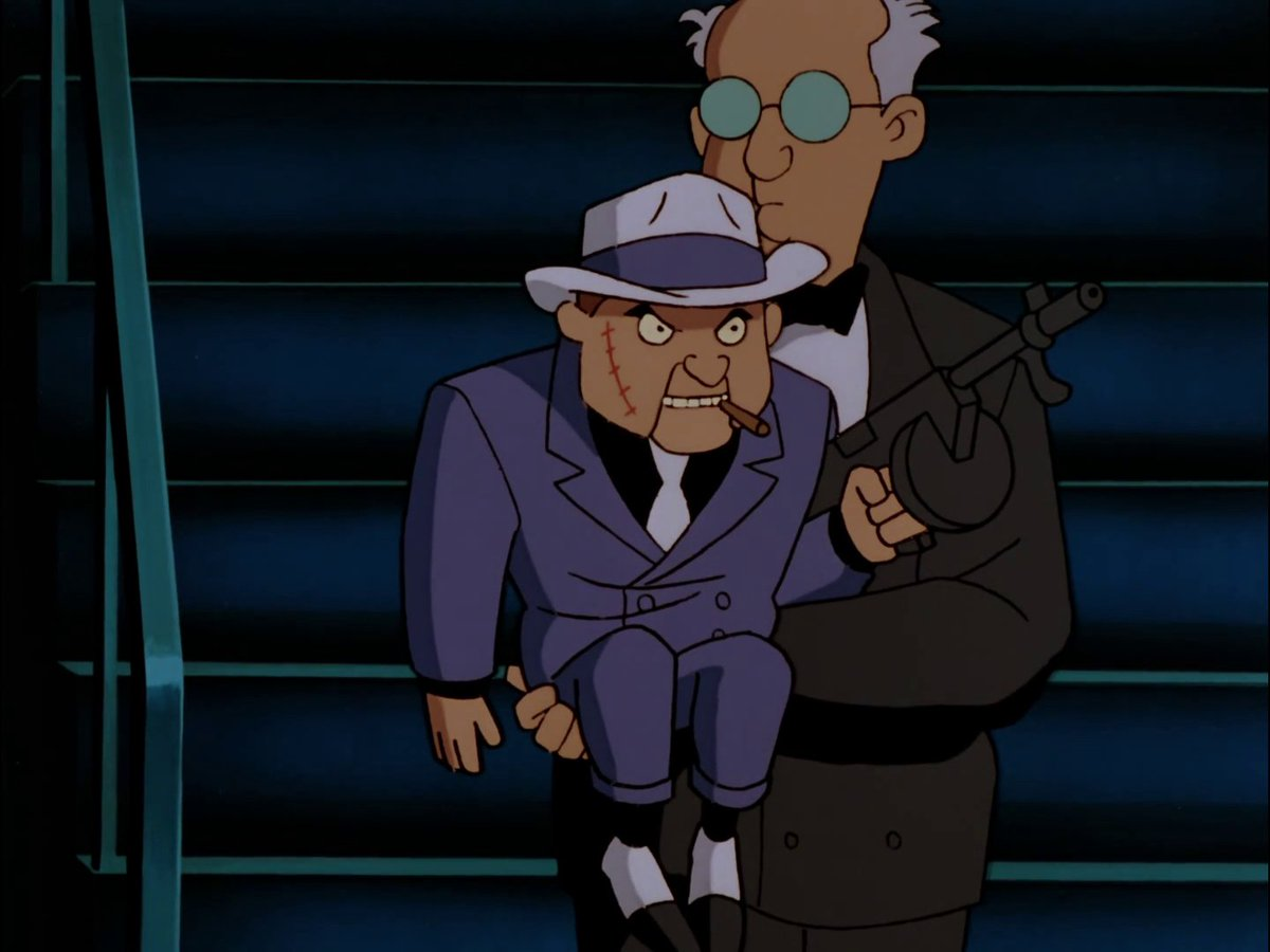 """The World's Finest on Twitter: """"The Batman: The Animated Series episode """"Read My Lips"""" debuted this month (May 10) back in 1993! Scarface's introduction to the series mixes a pitch-perfect hard-boiled bent"""