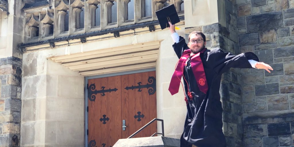 VT First-Gen Graduate Spotlight:  Today, @vt1stgen celebrates Senior Nick Angle, a Physics major, on his graduation from VT! Nick, we are very proud of you & your accomplishments! 🎉 Help us congratulate Nick on his graduation! #VTFirstGenGraduate #CelebrateFirstGen