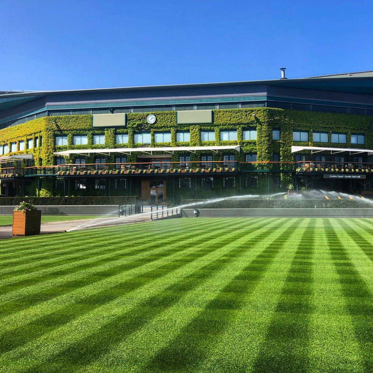 Still green and pleasant 💚 #Wimbledon