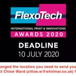 Image for the Tweet beginning: FlexoTech Awards 2020 are open