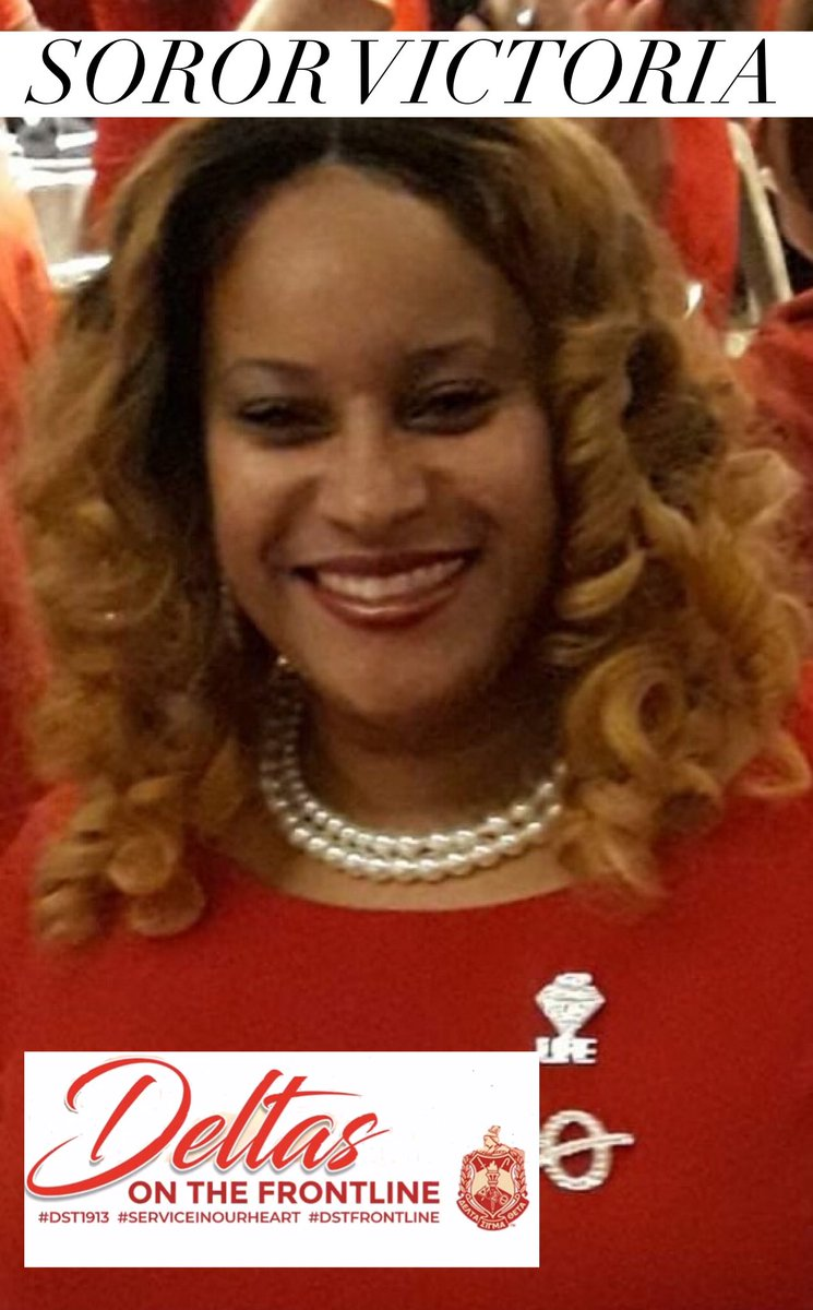 We salute frontline worker & soror, Victoria Caldwell, a librarian for @ChiPubSchools & the essential worker for Oglesby Elem, distributing Chromebooks, food & remote learning packets. Thank you, Soror Vicki. #DSTFrontline #ServiceInOurHeart #CAContheFrontline #DST1913 #CACStyle<br>http://pic.twitter.com/noqFpwTAU9