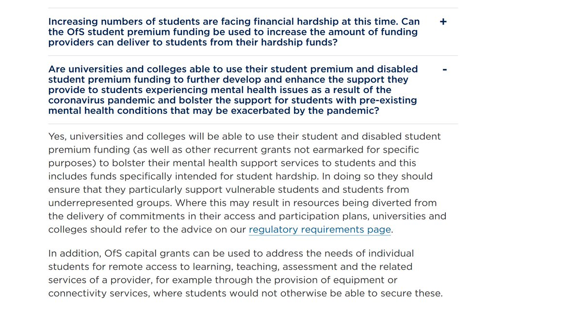 @UMHANUK Hi, it's in the FAQ under the heading 'support for vulnerable students': bit.ly/2yBXyL0