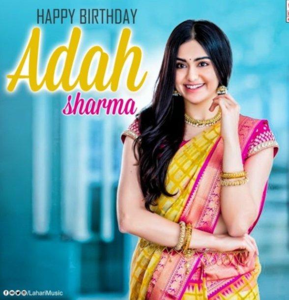 Happy birthday to you ADAH SHARMA garu