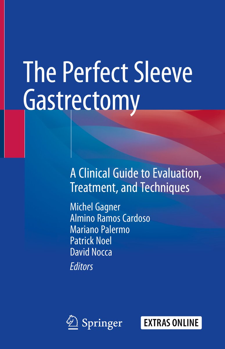 New in #Surgery! Written by renowned experts in #bariatricsurgery, The Perfect Sleeve Gastrectomy is a comprehensive title that details all the approaches used in performing sleeve #gastrectomy. https://t.co/m5ZIiQtM5A https://t.co/RulbUR5la4