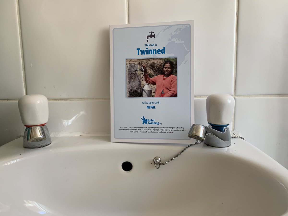 New #lockdown resolution: every month twin another tap with @toilettwinning   Done two so far! https://t.co/xaN075mcpD