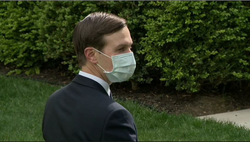 After new memo, staffers at Rose Garden event are wearing masks