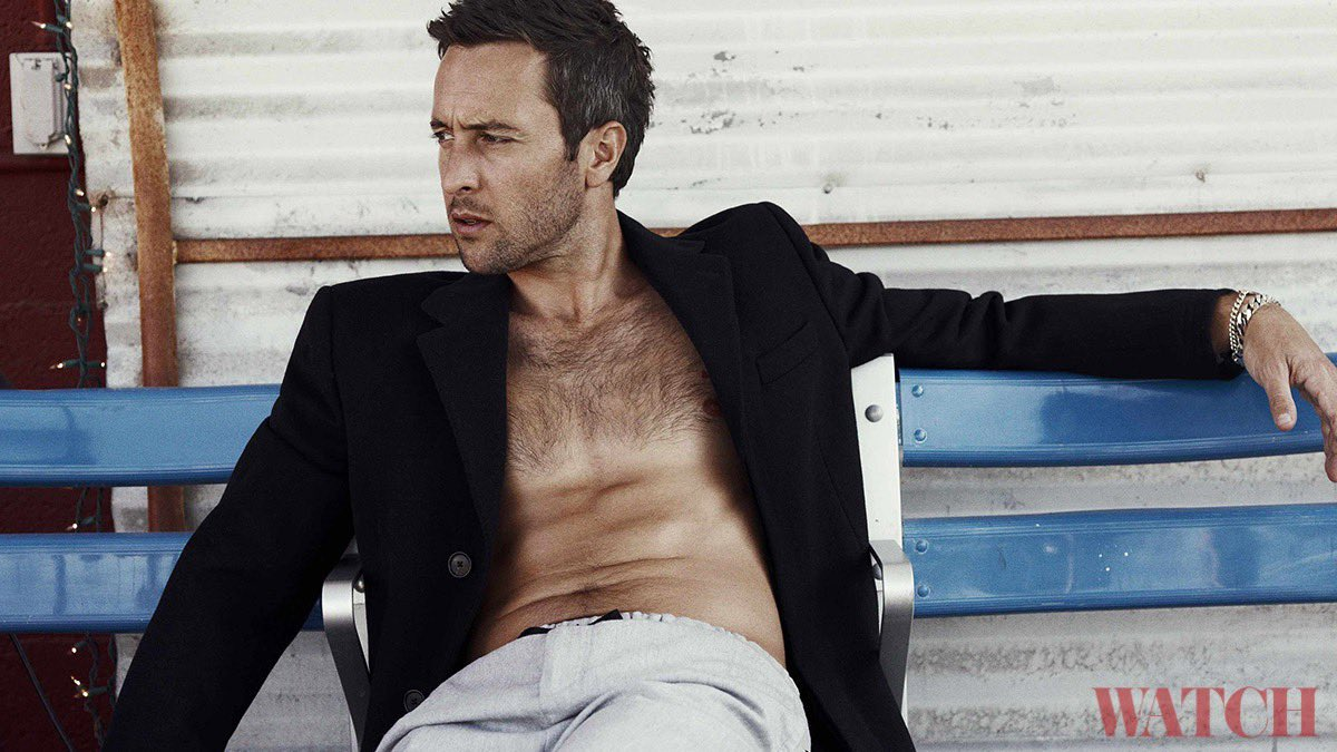 Aloha, #SteveMcGarrett! Here's a fun throwback of @HawaiiFive0CBS star #AlexOLoughlin modeling for a GQ photo shoot—and looking hotter than ever! See more 🔥 portraits here 👉 bit.ly/H50Hottie #H50 #CBS #CBSAllAccess #CBSTVStudios