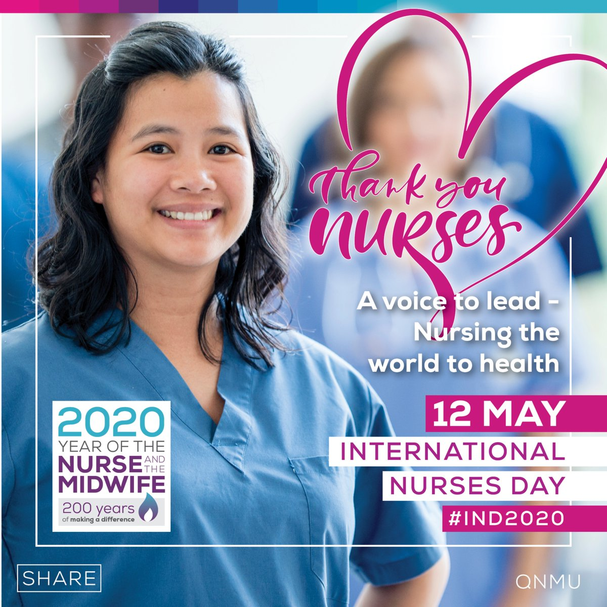 On International Nurses Day today, let's acknowledge the nurses in our hospitals, facilities and clinics who work long hours and public holidays to make sure our families and loved ones get the care they need. RT and say thanks. #IND2020