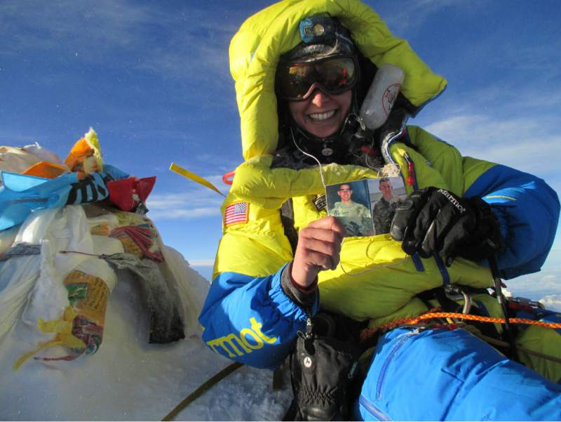 #OTD May 24. 2016 CPT Elyse Ping Medvigy 12 became first woman active-duty service member to summit Mount Everest. In 2018, she followed up by summiting Denali. She began high-altitude climbing at age 19 during a family competition racing to the summit of Kilimanjaro.
