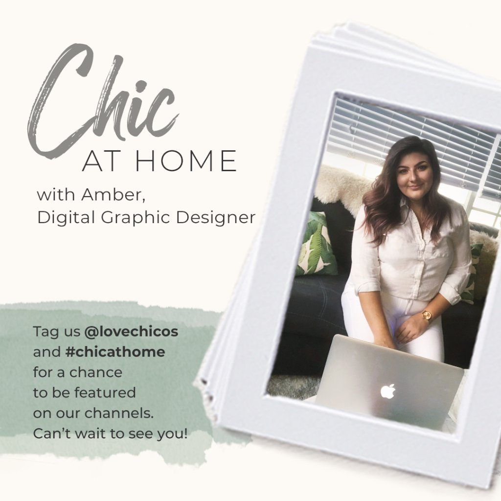 Meet Amber, our Digital Graphic Designer. She's keeping it #chicathome by maintaining her routines and spending time with her two newly adopted kittens. Click the link to learn more and to shop Amber's favorite look: https://t.co/adp2snI4Qp. https://t.co/772ww51PCt