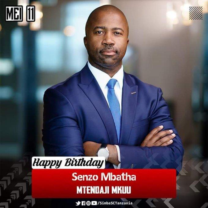 Happy birthday kaka  CEO SIMBA SC