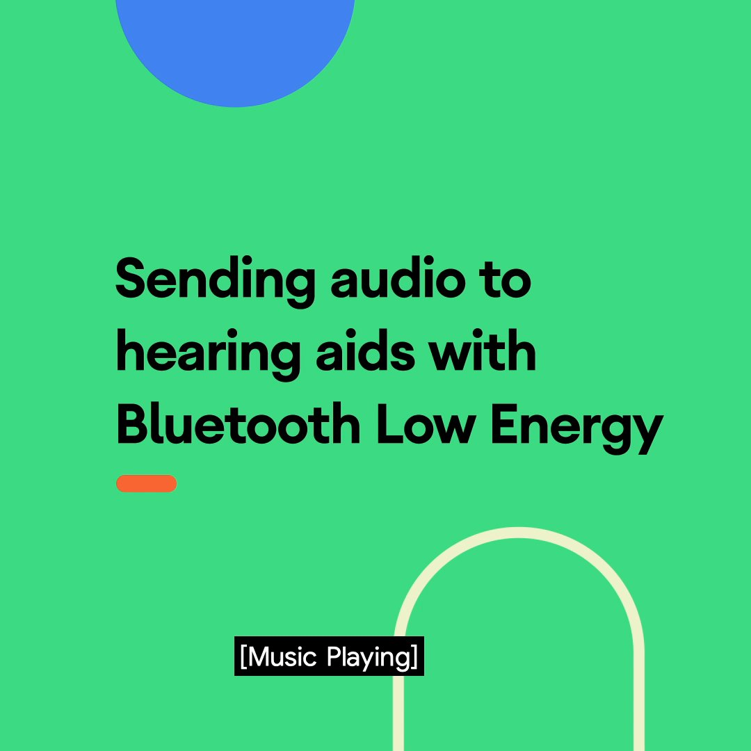 We turned to Bluetooth Low Energy to transmit sound to hearing aids on Android because we know battery life is important. Learn how BLE works to provide continuous audio with less charging. https://t.co/FF17wRW1iI