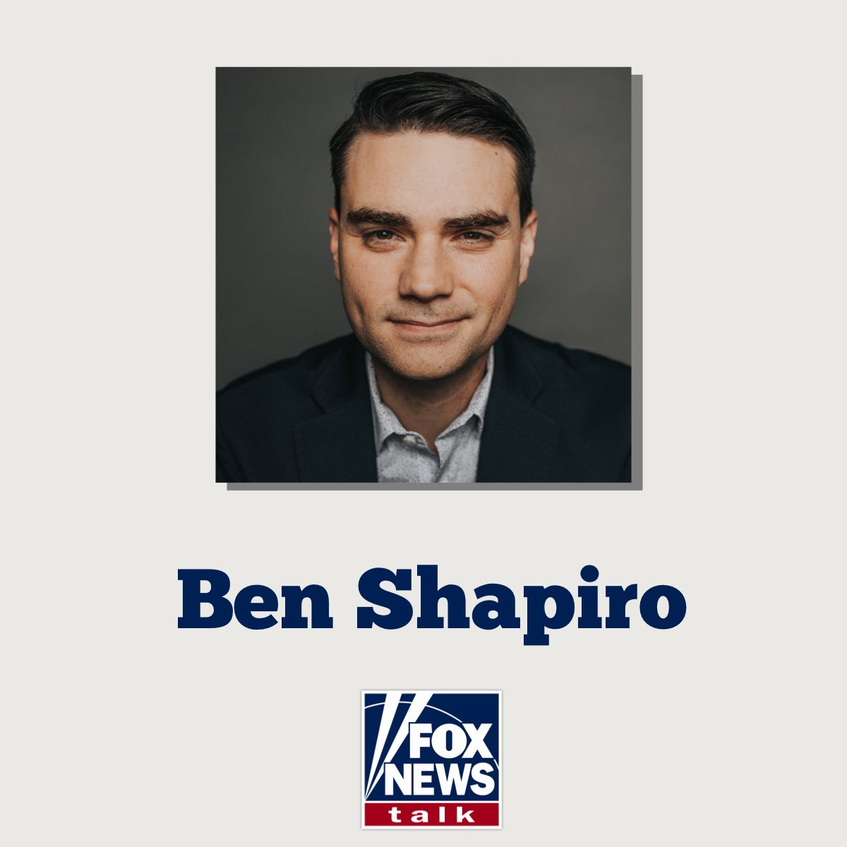 Looking forward to chatting with @benshapiro today on the @GuyBensonShow 🎙🇺🇸