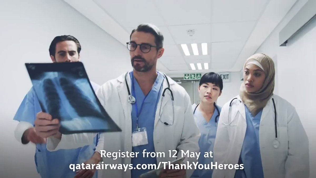 Do you know a healthcare hero who would love a well-deserved holiday when travel restrictions ease? RT and tag them to ensure they register for free return tickets for themselves and a companion with #QatarAirways. qatarairways.com/ThankYouHeroes #InternationalNursesDay #ThankYouHeroes