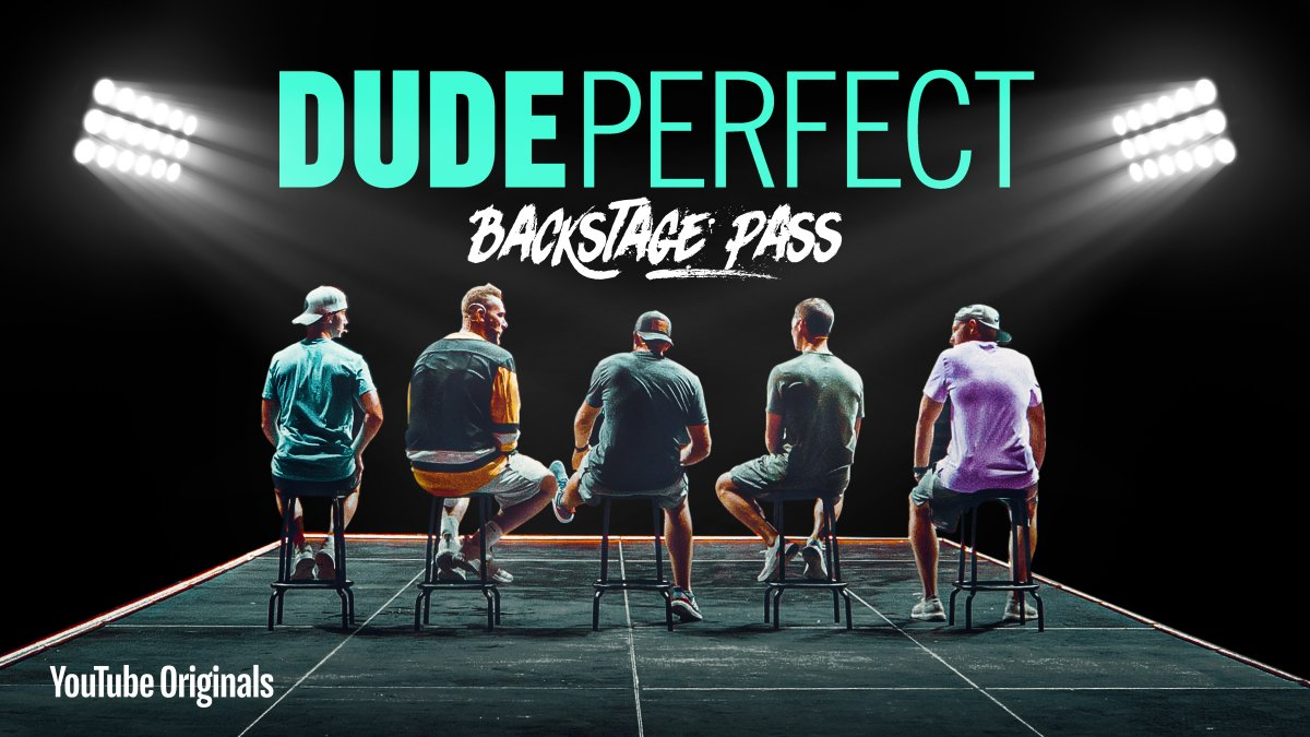 THE WAIT IS OVER.  Watch the official Dude Perfect Documentary for free NOW on YouTube >>