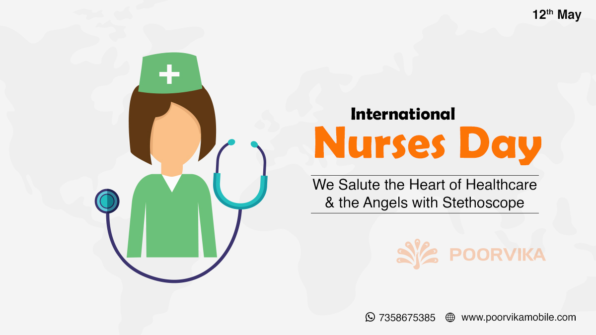 Celebrating the spirit of nursing! They dispense comfort, compassion, and care without even a prescription. Lets thank them for their undying effort! #Poorvikamobiles #Poorvika #Internationalnursesday #Nurseday #Healthcare #Healthcareworkers #Nursescontribute #Health