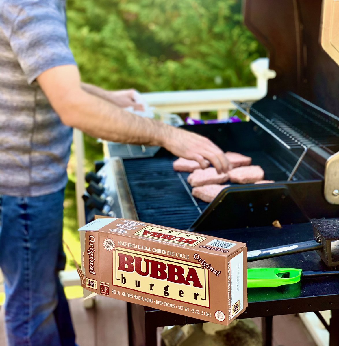 BUBBA burger is ready for a new week! #bubbaburger #stayhomegrillout
