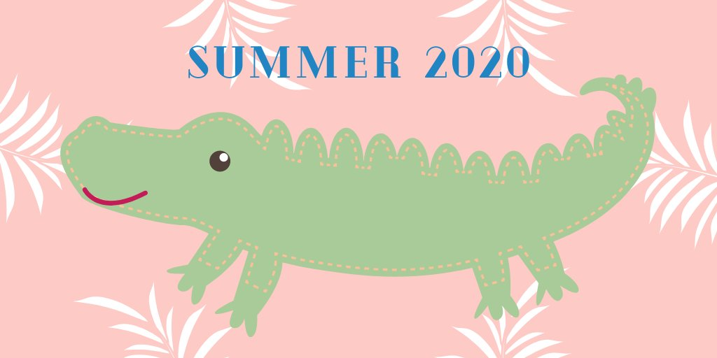 It's the first day of Summer 2020, EduGators! Share how you're feeling with an emoji or gif ☀️🐊