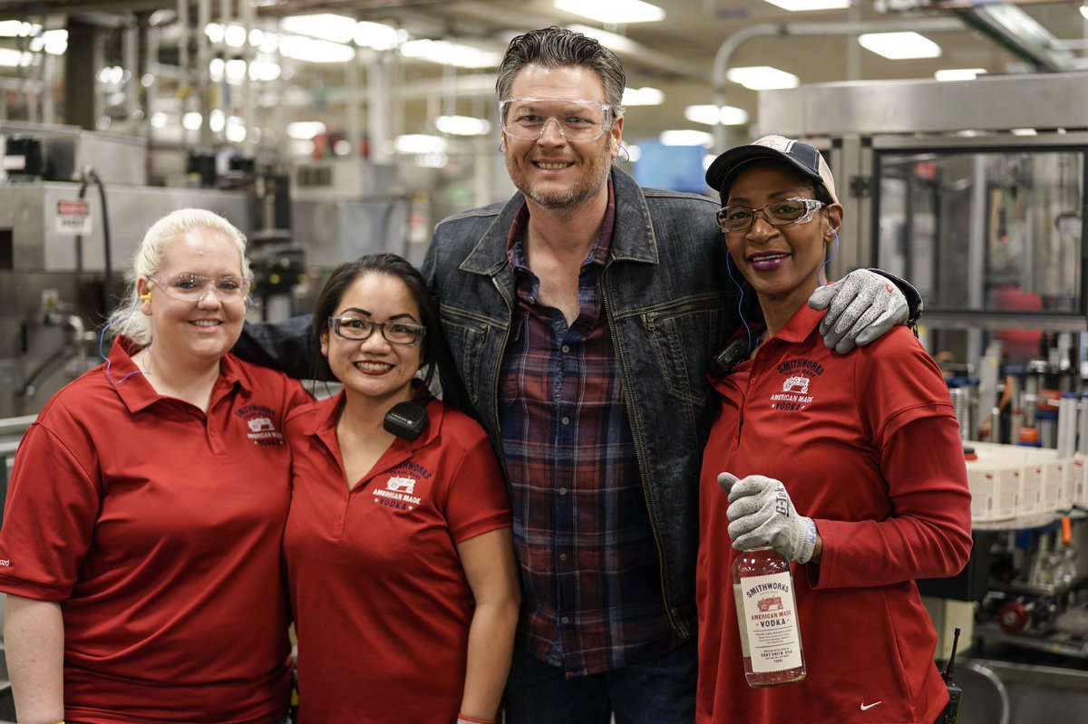 Thanks to all those who are working hard to keep us safe. @smithworksvodka's parent company @pernodricardusa is producing hand sanitizer in multiple production plants nationwide to donate in collaboration with gov't & community officials to help those in need. Hell right y'all! https://t.co/16MGKET7pV